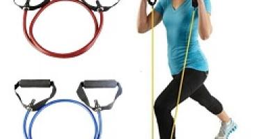 آموزش 6 حرکت ورزشی مفید با کش بدنسازی دسته دار