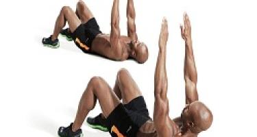 14 تمرین با دمبل جهت تقویت عضلات ناحیه شکم و فیله کمر